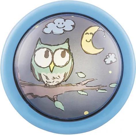 Rábalux 4563 Nočné Orientačné Svetlo pre Deti viacfarebné modrý LED 0,3W 10 x 10 cm