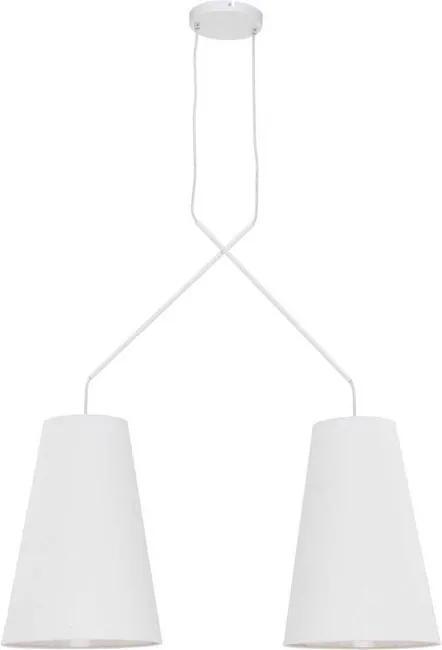 Nowodvorski 9370 Závesné svietidlo ALANYA WHITE II 9370 biele