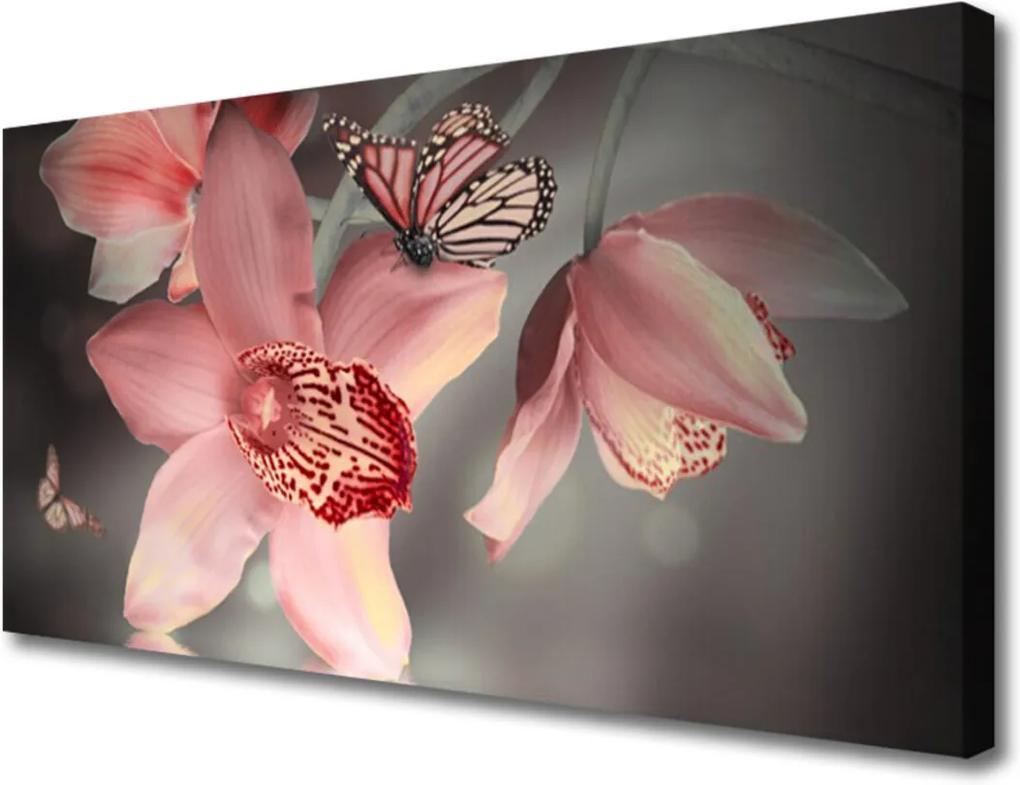 Obraz na plátně Skleněný květiny