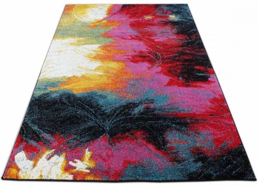Kusový koberec Letti červený 80x150, Velikosti 80x150cm