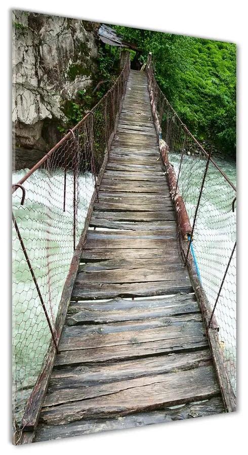 Moderný akrylový fotoobraz Visiace most pl-oa-70x140-f-66084726