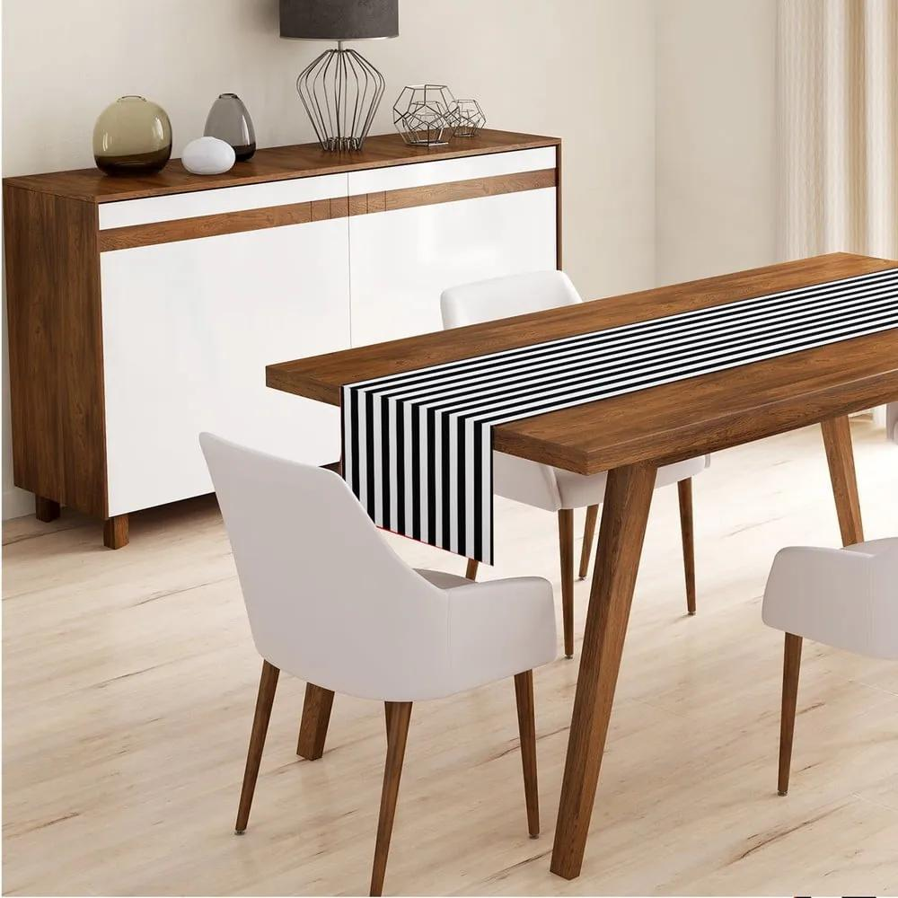 Behúň na stôl z mikrovlákna Minimalist Cushion Covers Fresmo, 45 x 145 cm