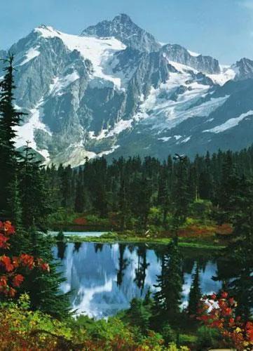 Fototapety, rozmer 183 x 254 cm, Mountain Peak, W+G 307