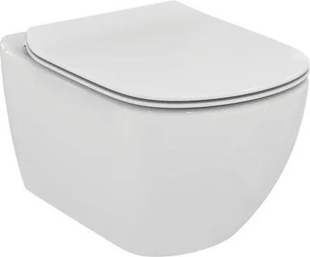 Závesný WC so sedadlom softclose Ideal Standard Testra, zadný odpad, 53cm SIKOSIST0079
