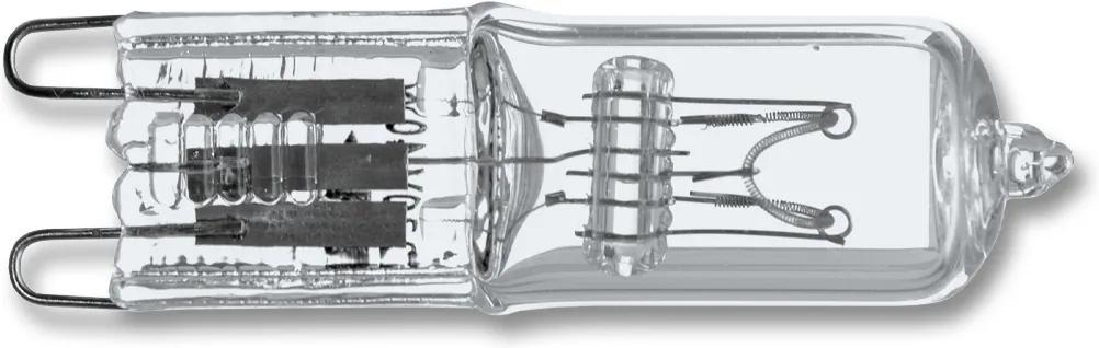 Ecolite halogénová žiarovka G9 60W teplá biela
