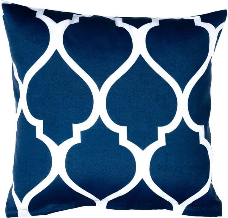XPOSE ® Povlak na polštář ROYAL - modrá 40x40