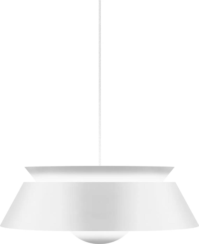 CUNA| Dizajnové dánske závesné svietidlo Farba: Biela