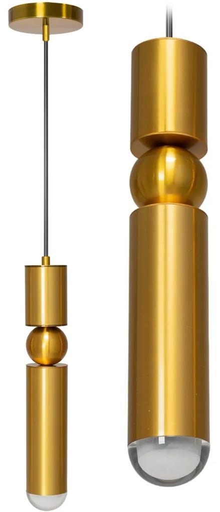 TooLight Stropní svítidlo CHICAGO LED I zlaté