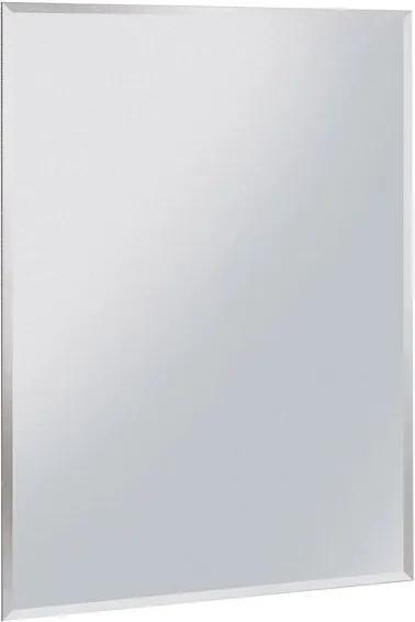 Aqualine 22471 zrkadlo 60x70 cm, s fazetou, bez uchytenia