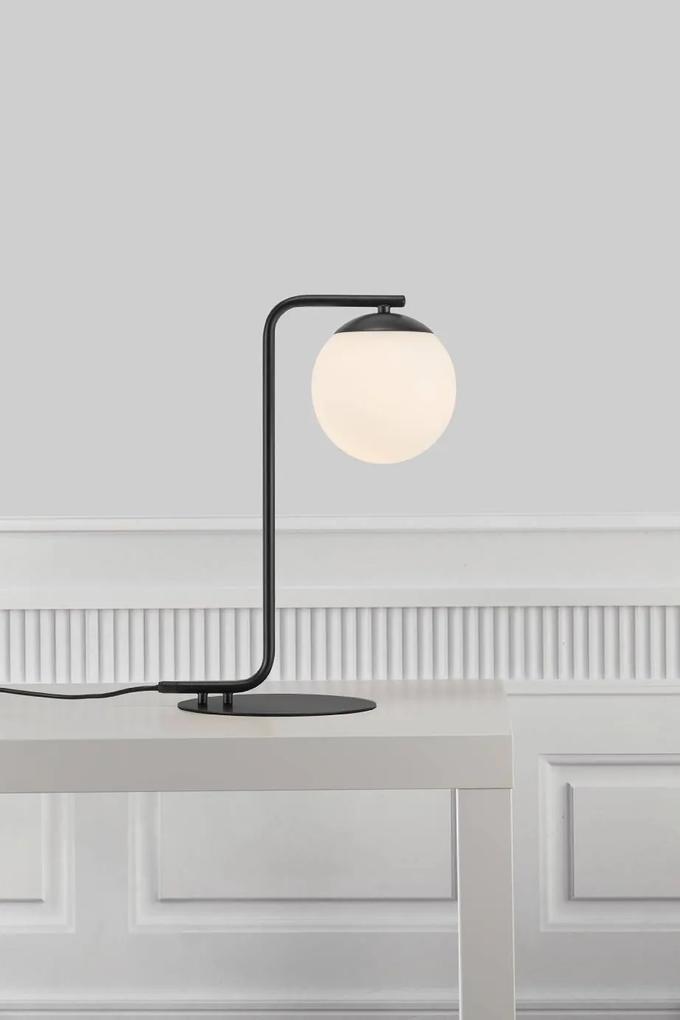 GRANT | dizajnová stolná lampa Farba: Čierna
