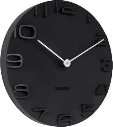 Nástěnné hodiny Cordo 42 cm, černá tfh-KA5311BK Time for home