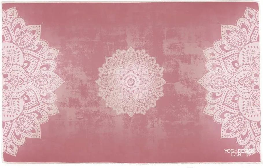 Malý uterák na jogu Yoga Design Lab Mandala