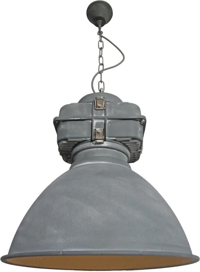 Retro a vintage svietidlo AZZARDO BISMARCK concrete AZ1575