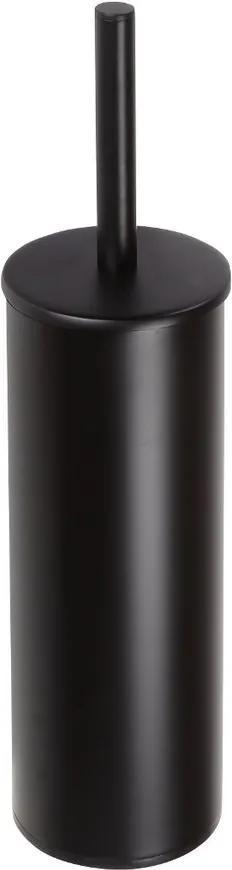 Dark 102313060 WC kefa valcová na postavenie, čierna XB301