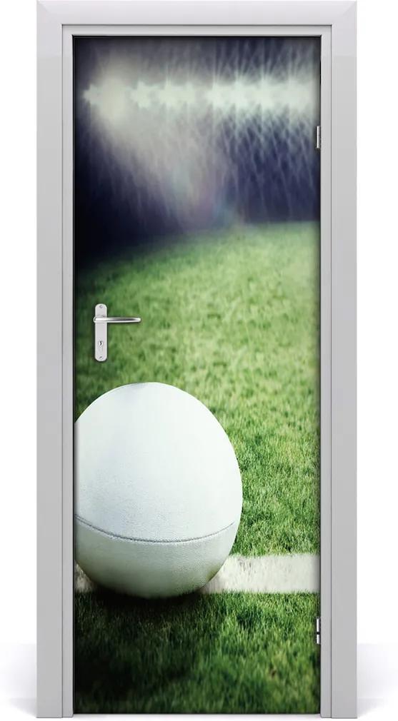 Fototapeta samolepící na dveře Míč na rugby