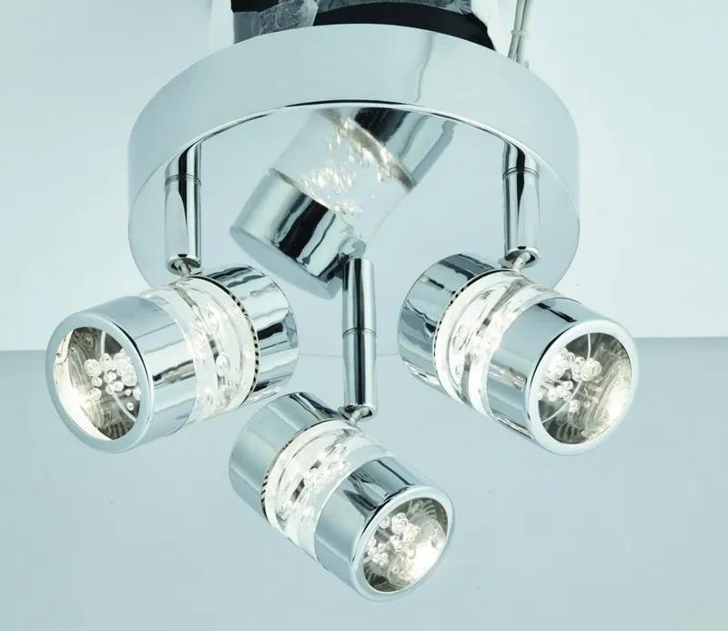Searchlight 4413CC BUBBLES LED trojbodové svietidlo IP44