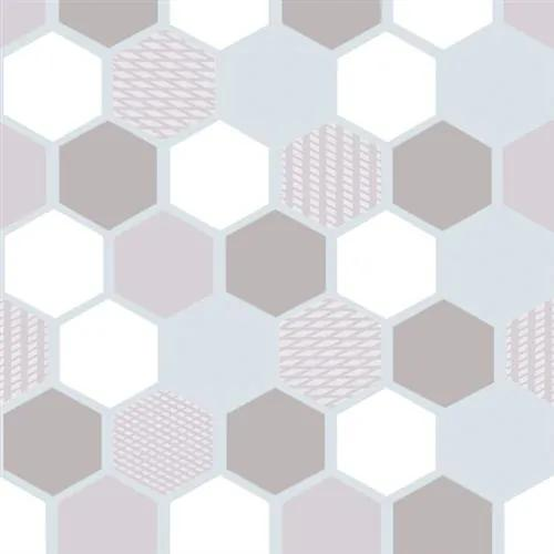 Statická fólia transparentná Wido 216-5039, rozmer 90 cm x 15 m, plástve, d-c-fix