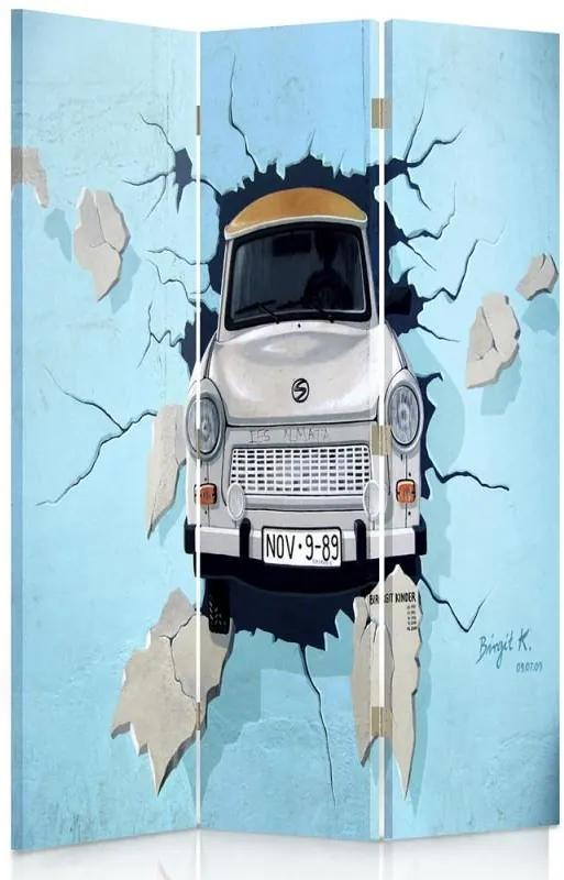 CARO Paraván - Trabant - Car | trojdielny | obojstranný 110x150 cm