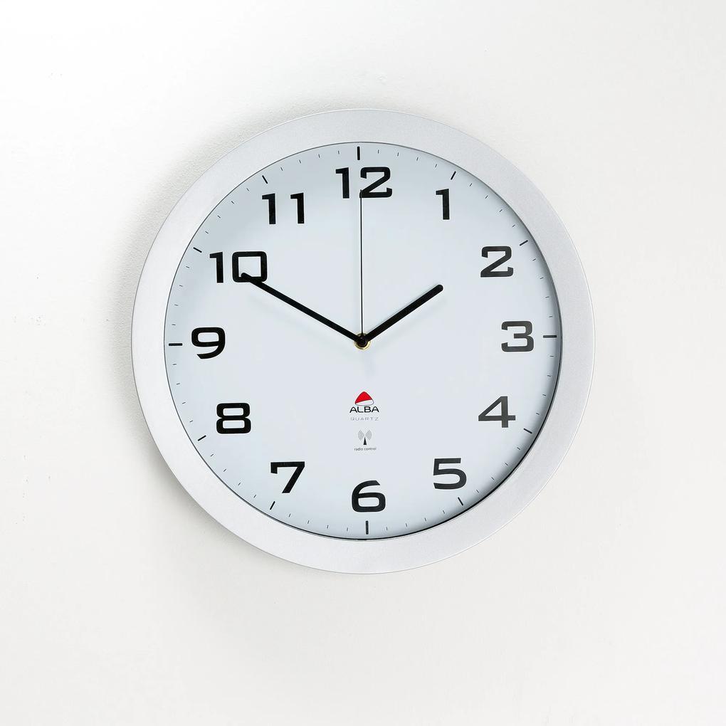 Nástenné hodiny s tichým chodom, Ø 380 mm
