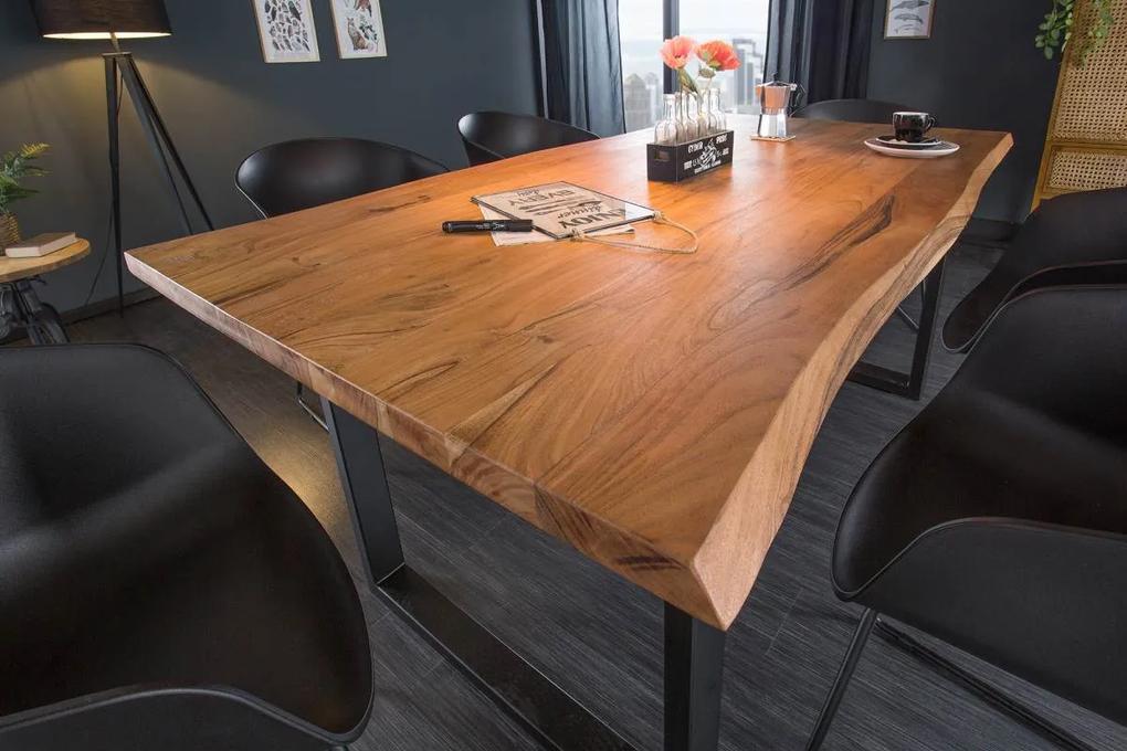 Dizajnový jedálenský stôl Massive 200 cm divá akácia