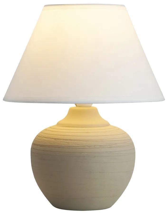 Rabalux 4391 Molly stolná lampa, béžová