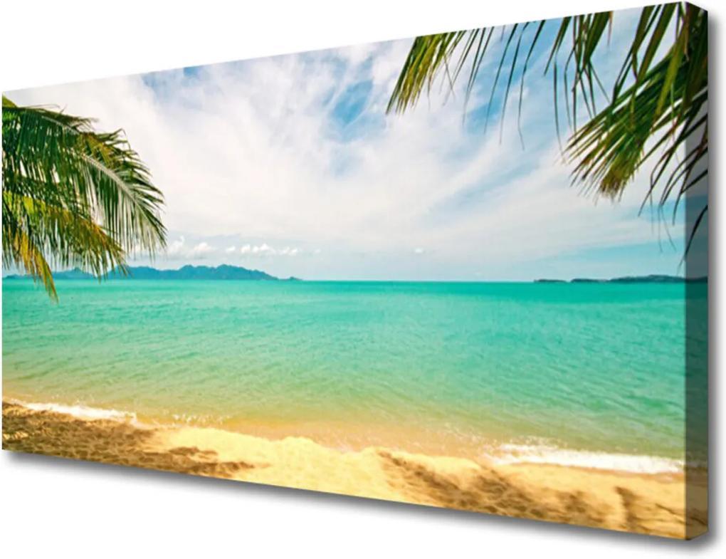 Obraz Canvas More Pláž Príroda