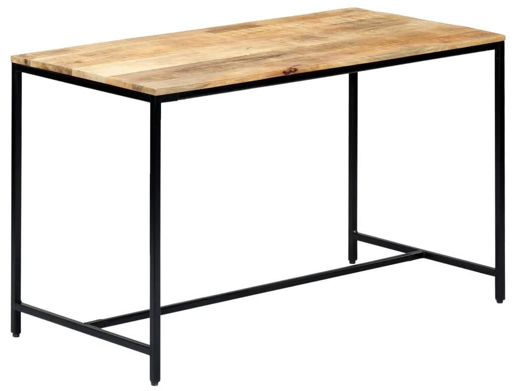 vidaXL Jedálenský stôl 120x60x75 cm masívne mangovníkové drevo
