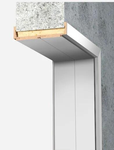 Obložková zárubňa Naturel 60 cm pre hrúbku steny 34-38 cm biela ľavá O9BF60L