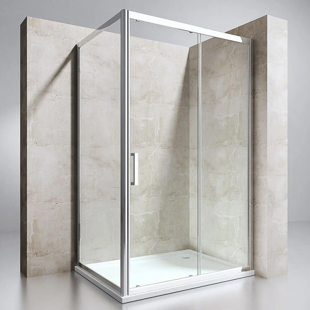 MAXMAX Sprchovací kút HERMES 90x120 cm