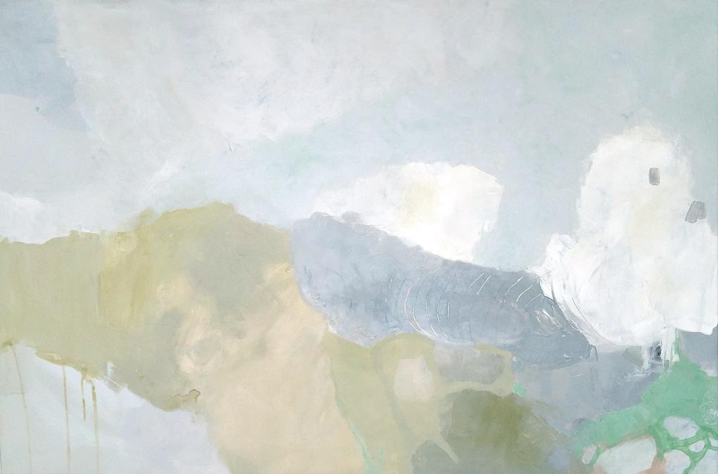 WHERE THE CLOUDS CLIMB - ORIGINÁL – 155 x 100 cm