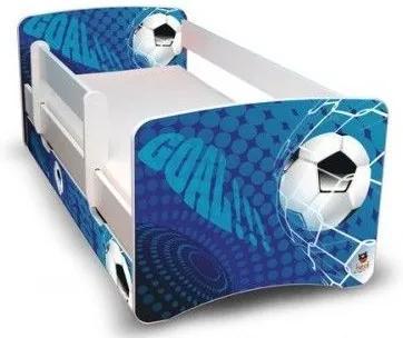 MAXMAX Detská posteľ 160x80 cm so zásuvkou - GÓL II 160x80 pre chlapca ÁNO