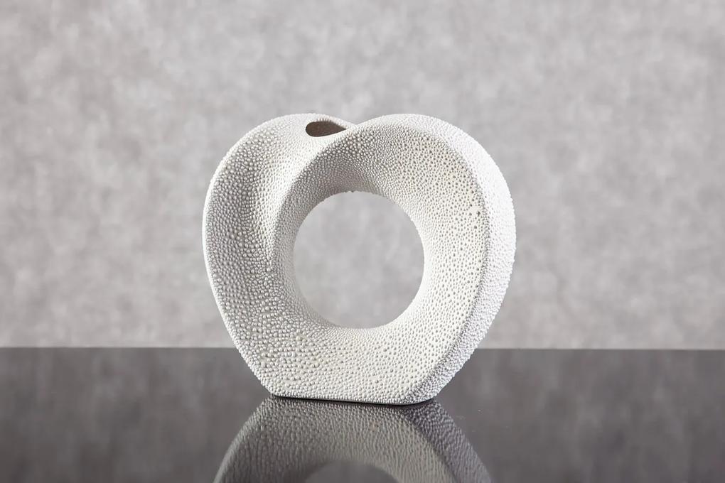 Luxusná keramická váza RISO 23x6x21