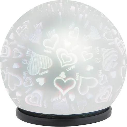 Rábalux Laila 4551 Dekoračné Svietidlá zrkadlové plast LED 0,3W 50lm 6500K IP20
