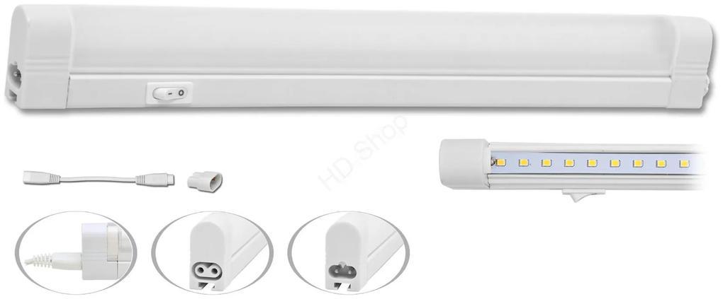 ECOLITE LED Kuchynské úsporné podlinkové svietidlo s vypínačom 8W, SLICK SMD TL2001-56SMD/8W