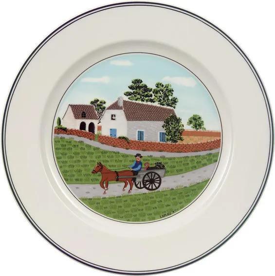 Dezertný tanier 21 cm Farmár Design Naif