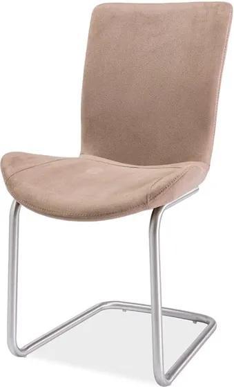 jedálenská stolička Papas, hnedá