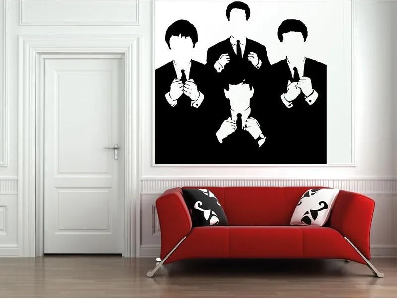 Vinylová samolepka na stenu, The Beatles