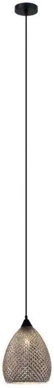 Závesné svietidlo SANIYA MDM-33491 BK+SL