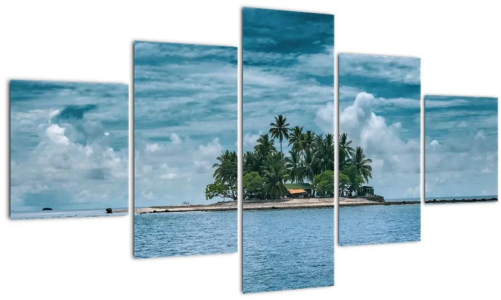 Obraz - ostrov v mori (125x70 cm), 40 ďalších rozmerov