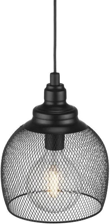 ELDR 25   závesné svietidlo s kovovým tienidlom Farba: Čierna