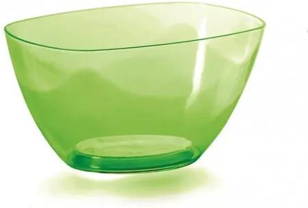 Prosperplast Dekoratívna miska Coubi zelená, 20 cm, 20 cm