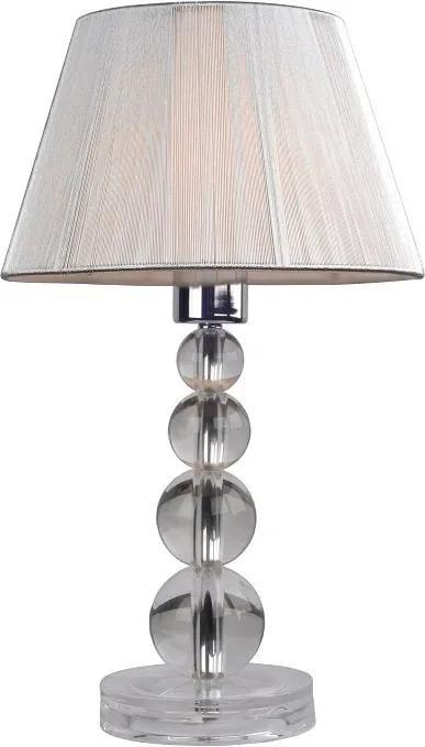 Stolná lampa, strieborná, CINDA Typ 14 MESMPEQ