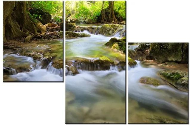 Tlačený obraz Horský prameň 90x60cm 1276A_3L
