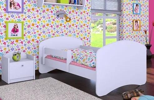 MAXMAX Detská posteľ bez šuplíku 140x70cm HAPPY bez motívu