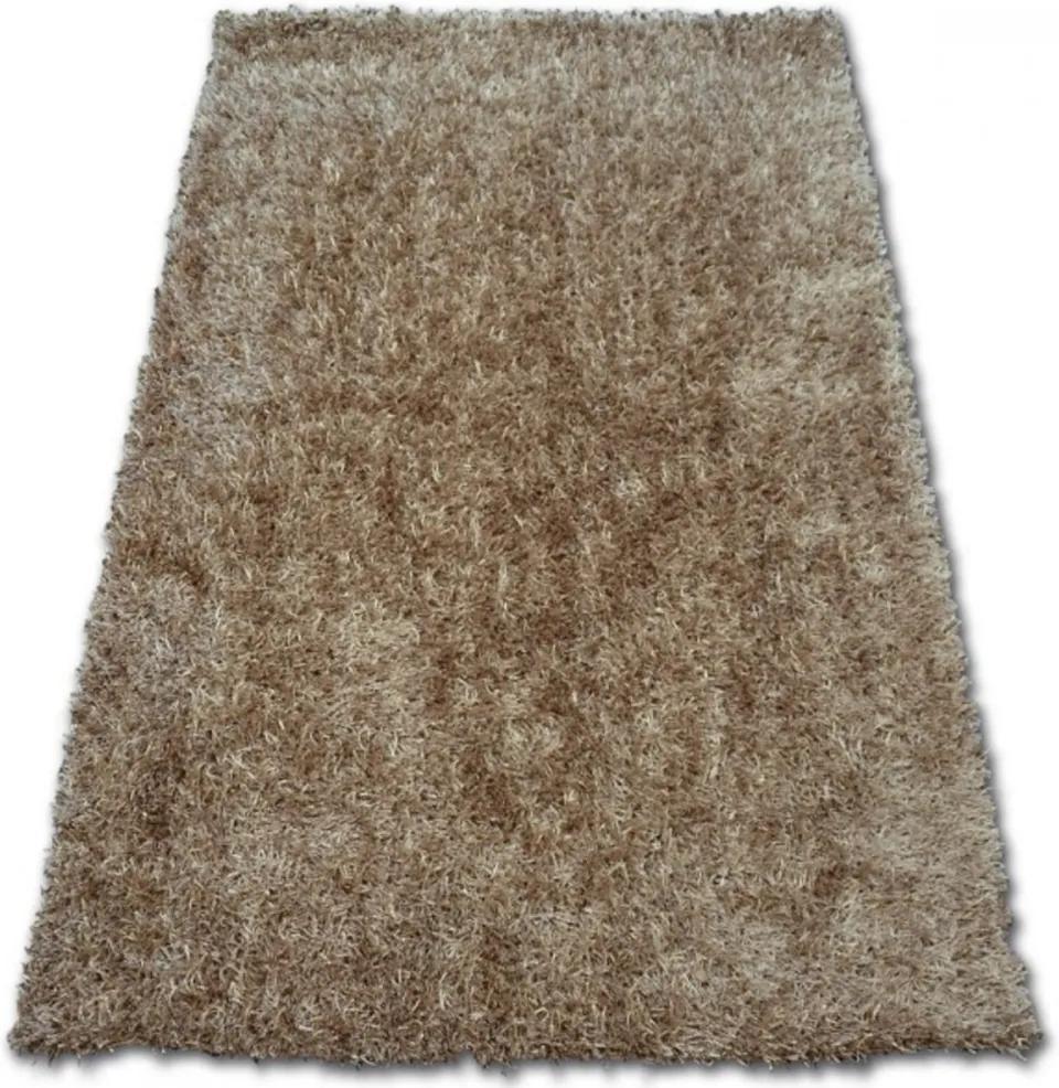 Luxusný kusový koberec Shaggy Lilou béžový, Velikosti 80x150cm
