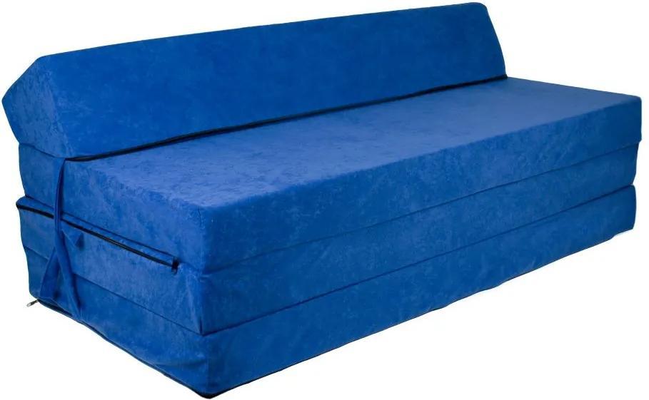 FI Rozkladacie kreslo 200x120x10 Farba: 06 kráľovská modrá