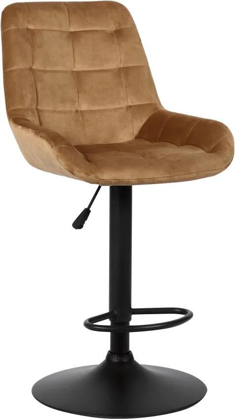 TEMPO KONDELA Chiro barová stolička hnedá