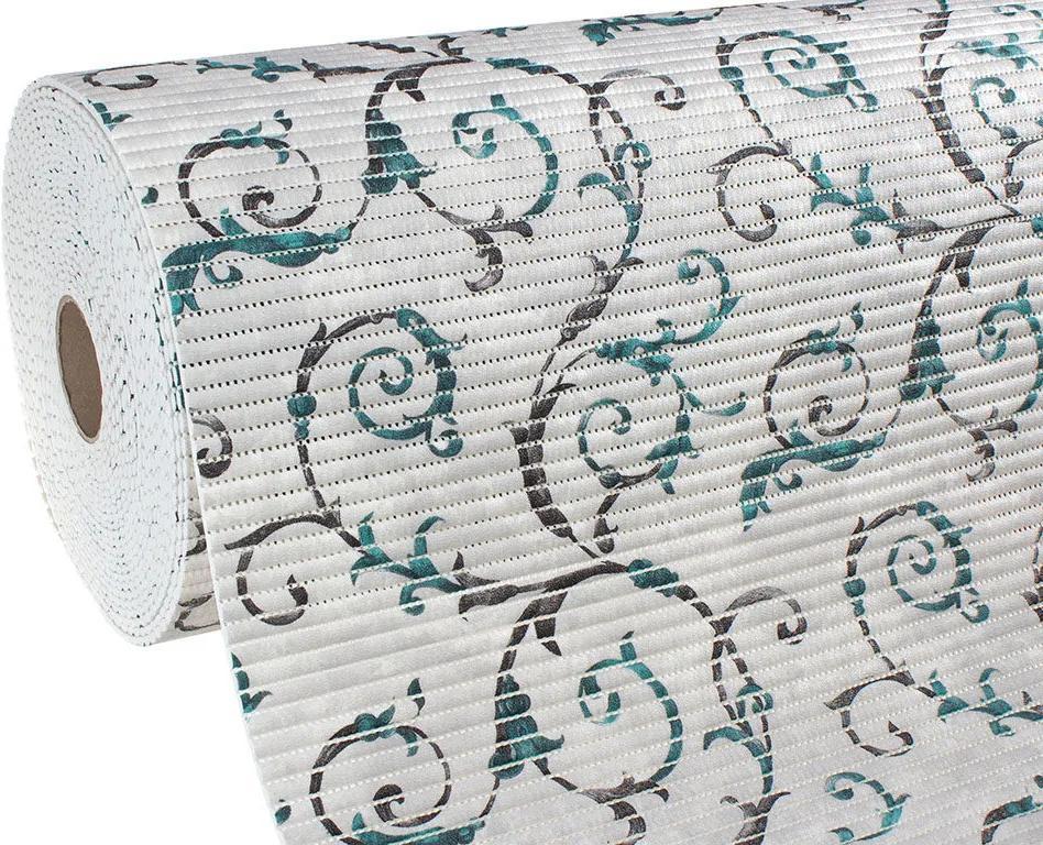 Škodák Kúpeľňová penová rohož – predložka – vzor 03 zámocký vzor – metráž šírka 65cm