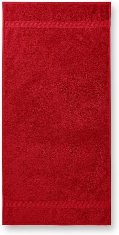 Adler Osuška Terry Bath Towel - Červená | 70 x 140 cm