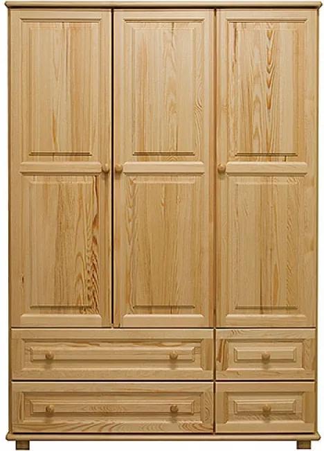 AMI nábytok Skříň č.3 ořech šířka 133 cm